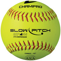 "Champro ASA 12"" Slowpitch Softballs"
