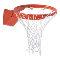 MacGregor Front Mount Double Rim Flex Basketball Goal