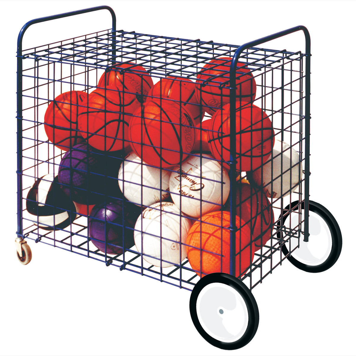 Champion Sports All-Terrain Locking Equipment Cart