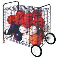 Champion Sports All-Terrain Locking Equipment Cart