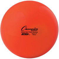 Champion Sports NFHS Approved Field Hockey Balls - Orange (FHB1OR)