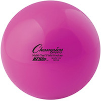 Champion Sports NFHS Approved Field Hockey Balls - Pink (FHB1PK)