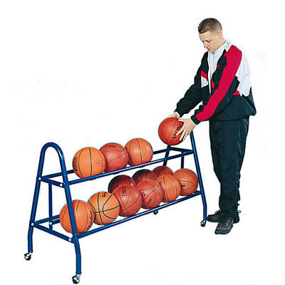Jaypro 18 Ball Basketball Rack