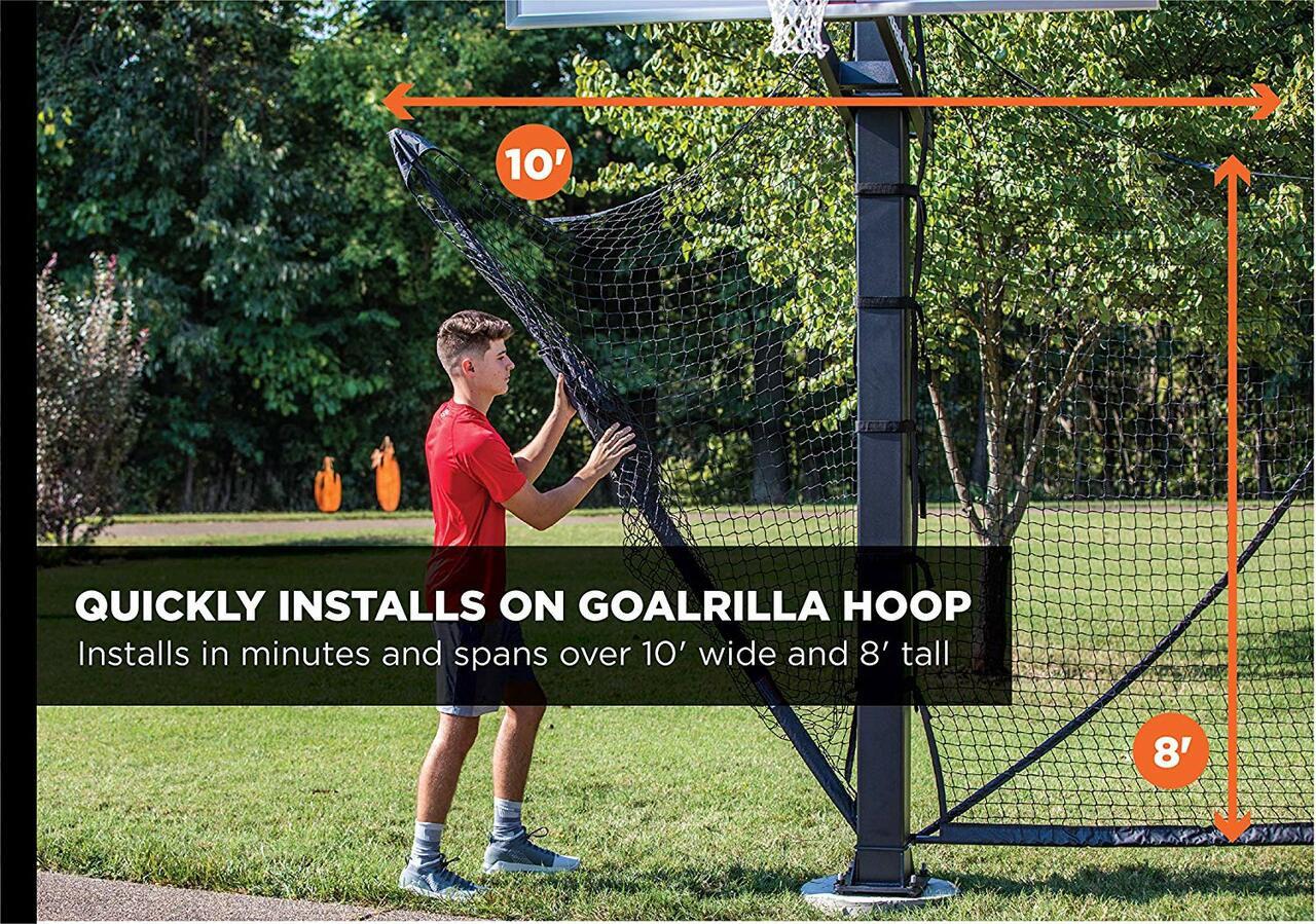 Basketball Yard Guard Net System