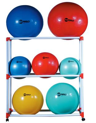 Champion Sports Large Ball Storage Rack