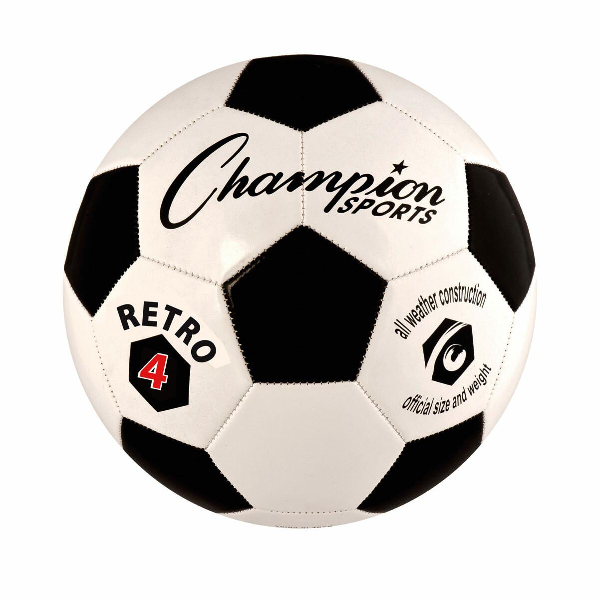 Champion Sports Retro Soccer Ball