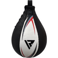 RDX S2 Boxing & MMA Training Leather Speed Bag with Swivel
