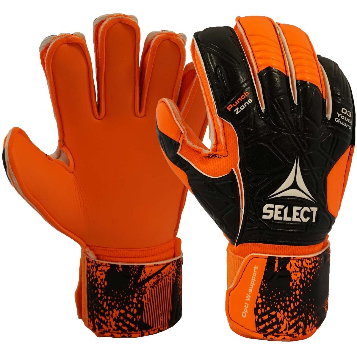 Select 03 Youth Protec Goalkeeper Gloves