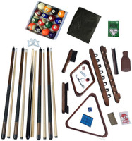 Deluxe Billiards Accessory Kit