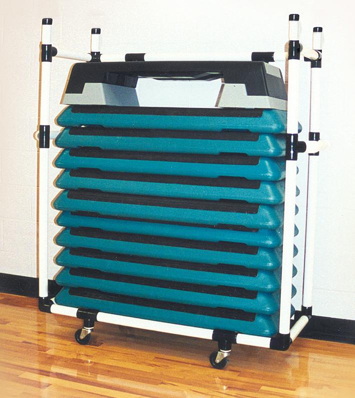 Duracart Health Club Step Cart