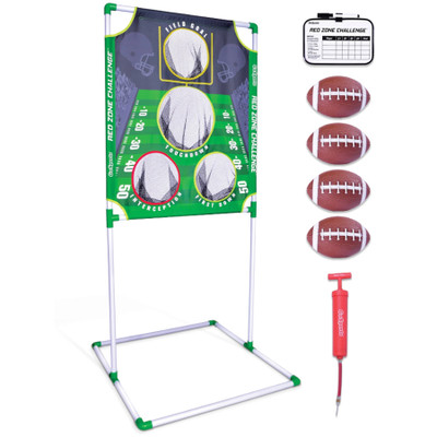 GoSports Red Zone Challenge Football Toss Game