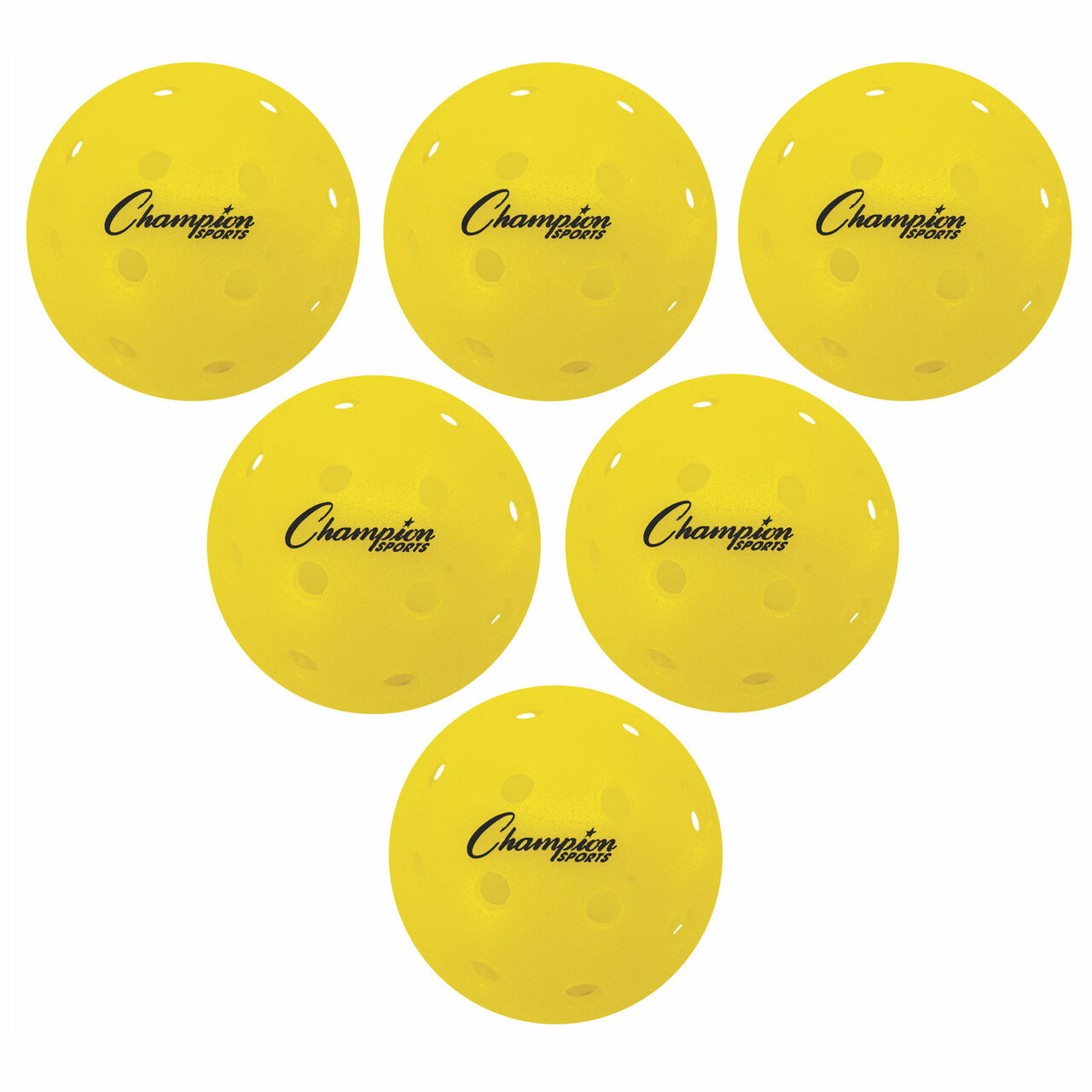 Champion Sports Roto Molded Outdoor Pickelball Set