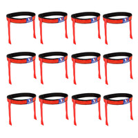 Victory Sports Flag Football Belt Set of 12 Red