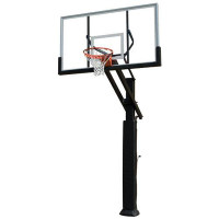 Grizzly Adjustable Basketball System