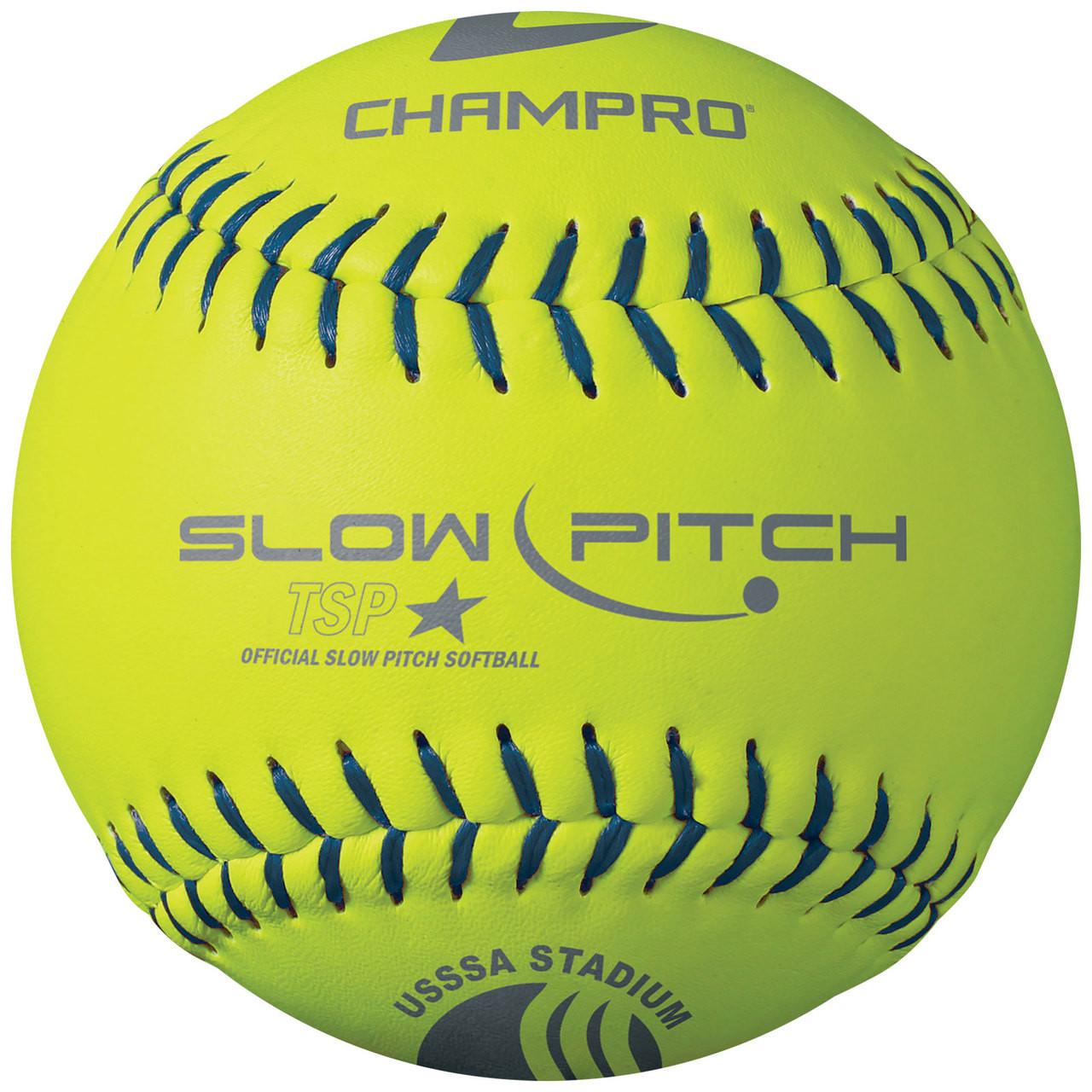"Champro Sports USSSA 12"" Classic Slowpitch Softballs - .47 COR"