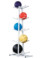 Champion Sports Double Sided Medicine Ball Rack