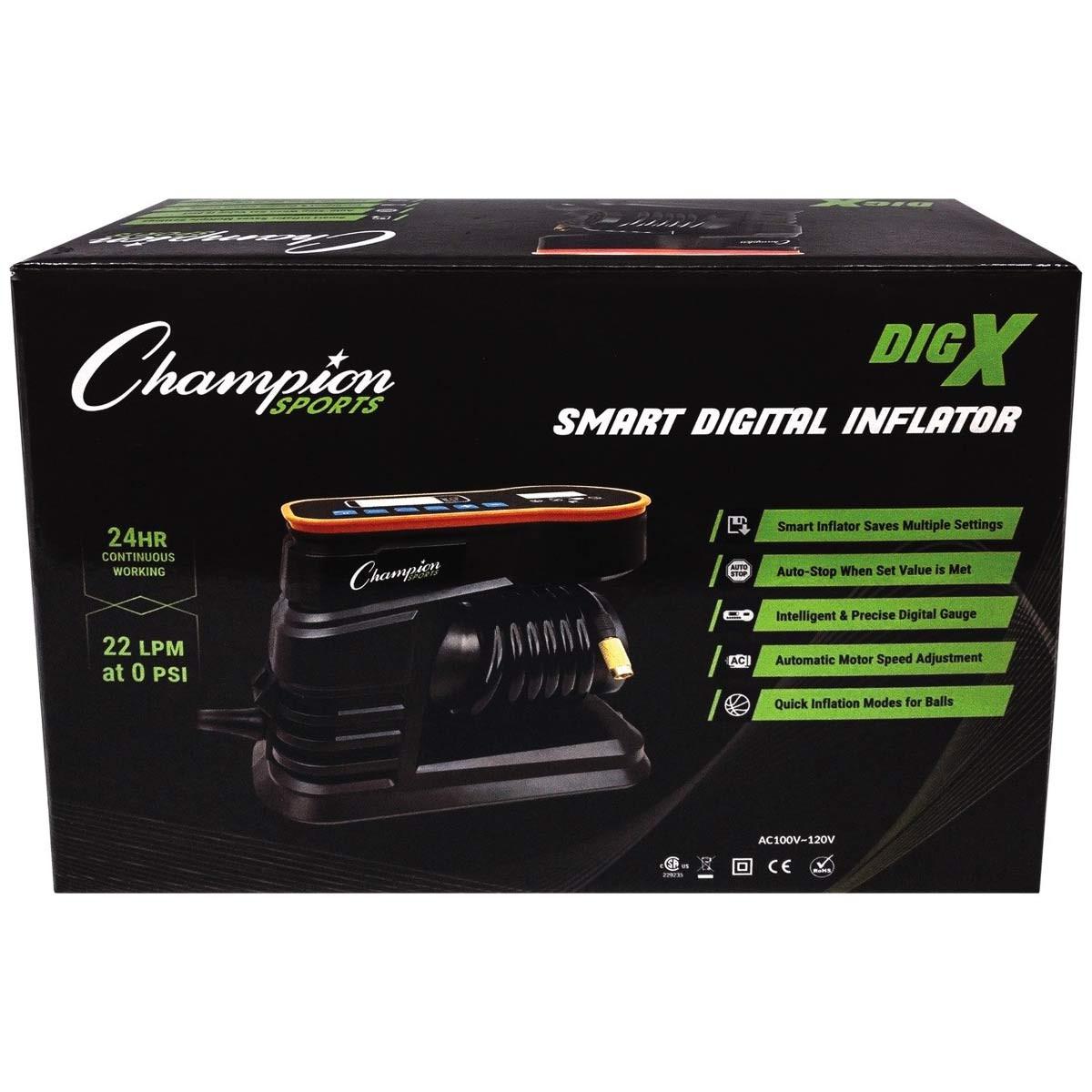 Champion Sports Smart Digital Inflator (DIGX)