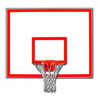 "Gared 60"" Playground Marked Steel Basketball Backboard (1260B)"