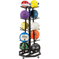 Champion Sports Deluxe Medicine Ball Tree Rack
