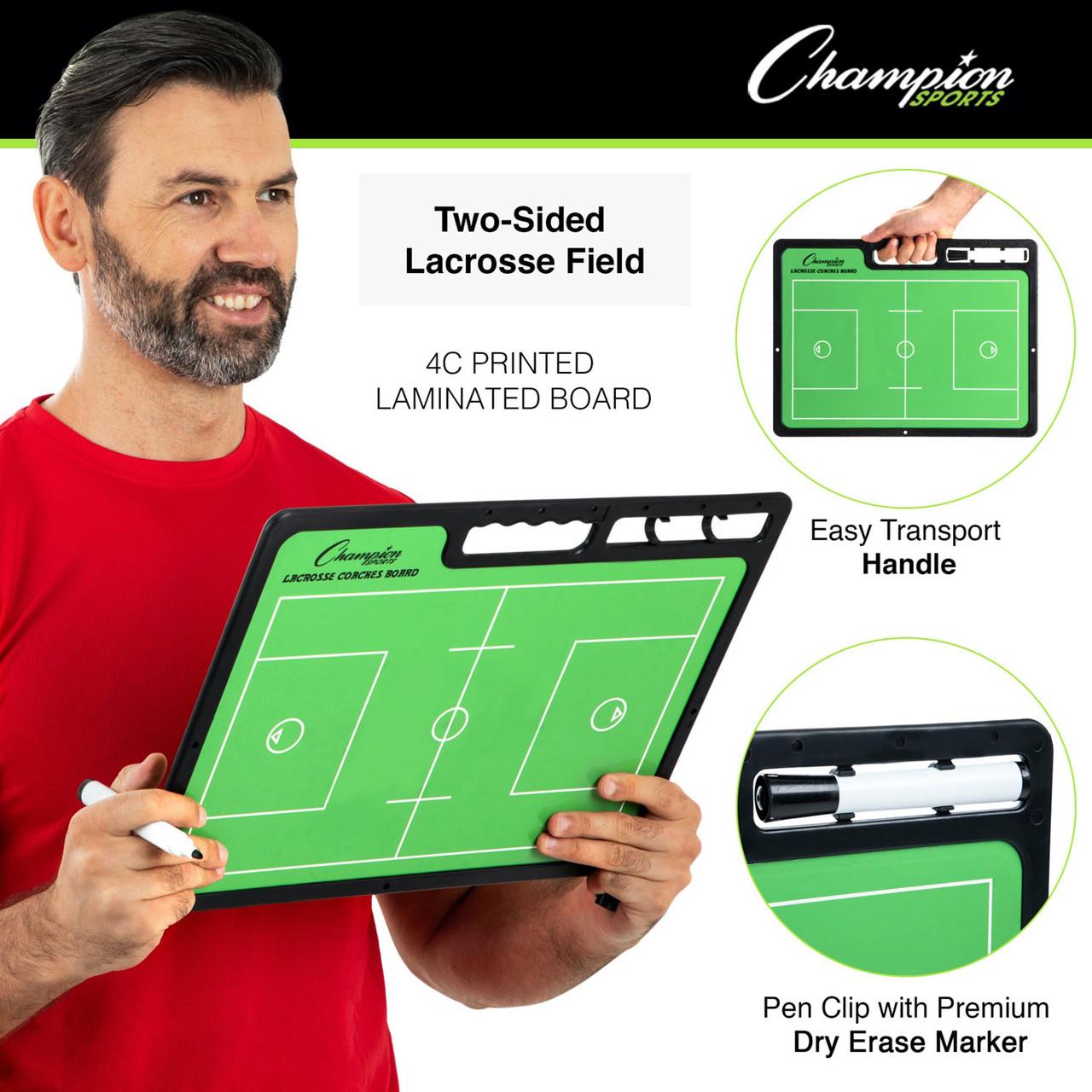 Champion Sports Extra Large Lacrosse Coaches Board (CBLAXL)