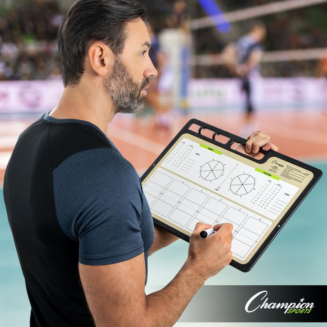 Champion Sports Extra Large Volleyball Coaches Board (CBVBXL)