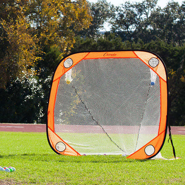 Champion Sports 6' x6'' Lacrosse Multi-Position Training Rebounder (LG66-)