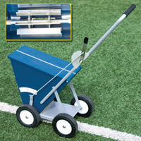 Alumagoal All-Steel Dry Line Marker, 4-Wheel (BBDLM654)