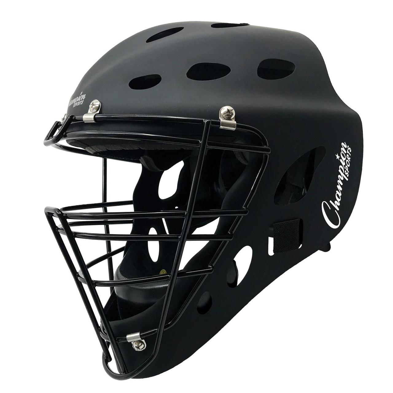 Champion Sports Adult Hockey Style Catchers Helmet (CH650)
