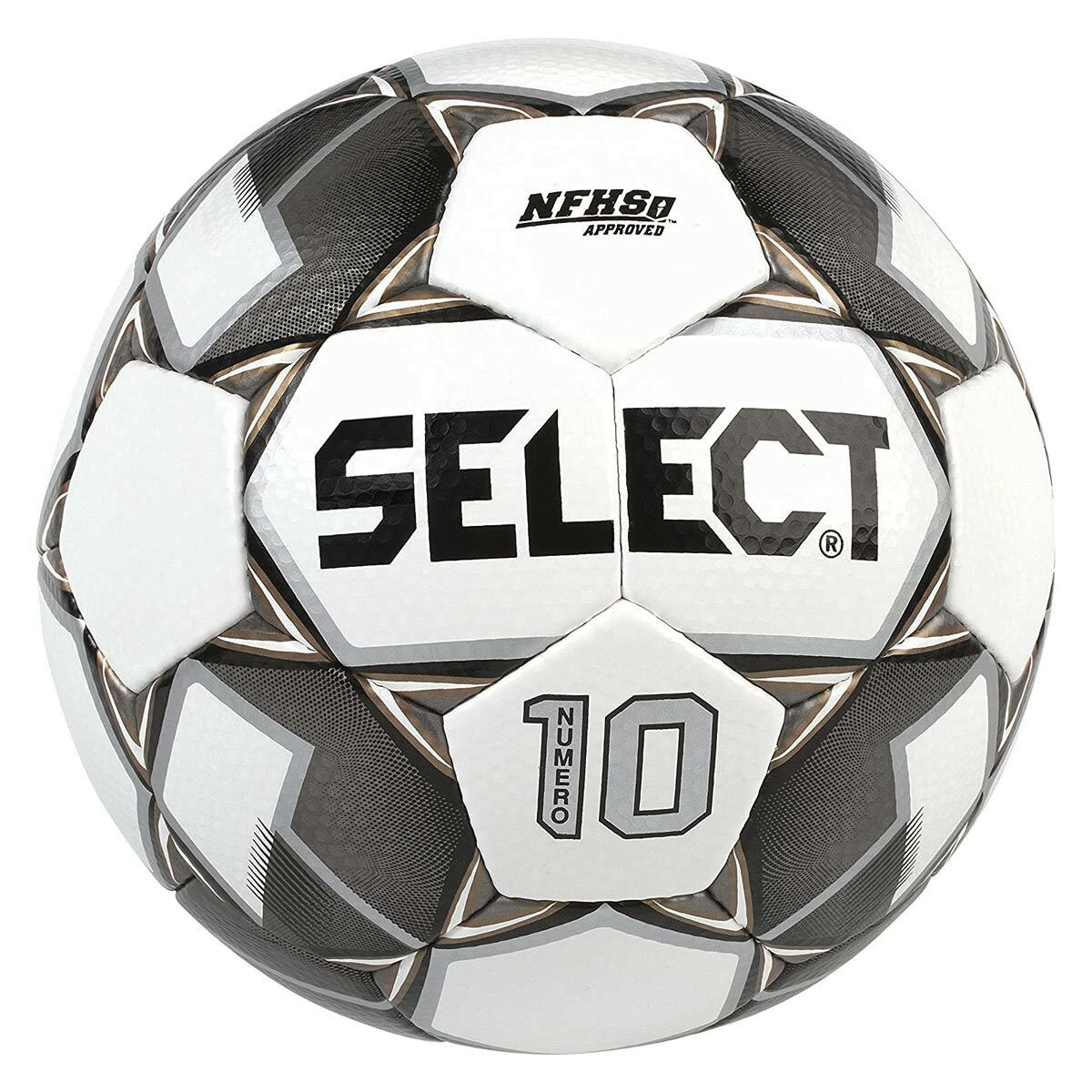 Select Numero 10 Soccer Ball Gray