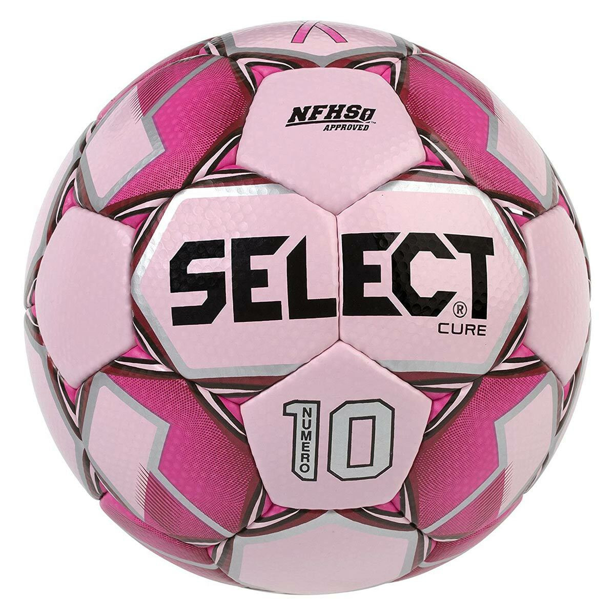 Select Numero 10 Soccer Ball pink