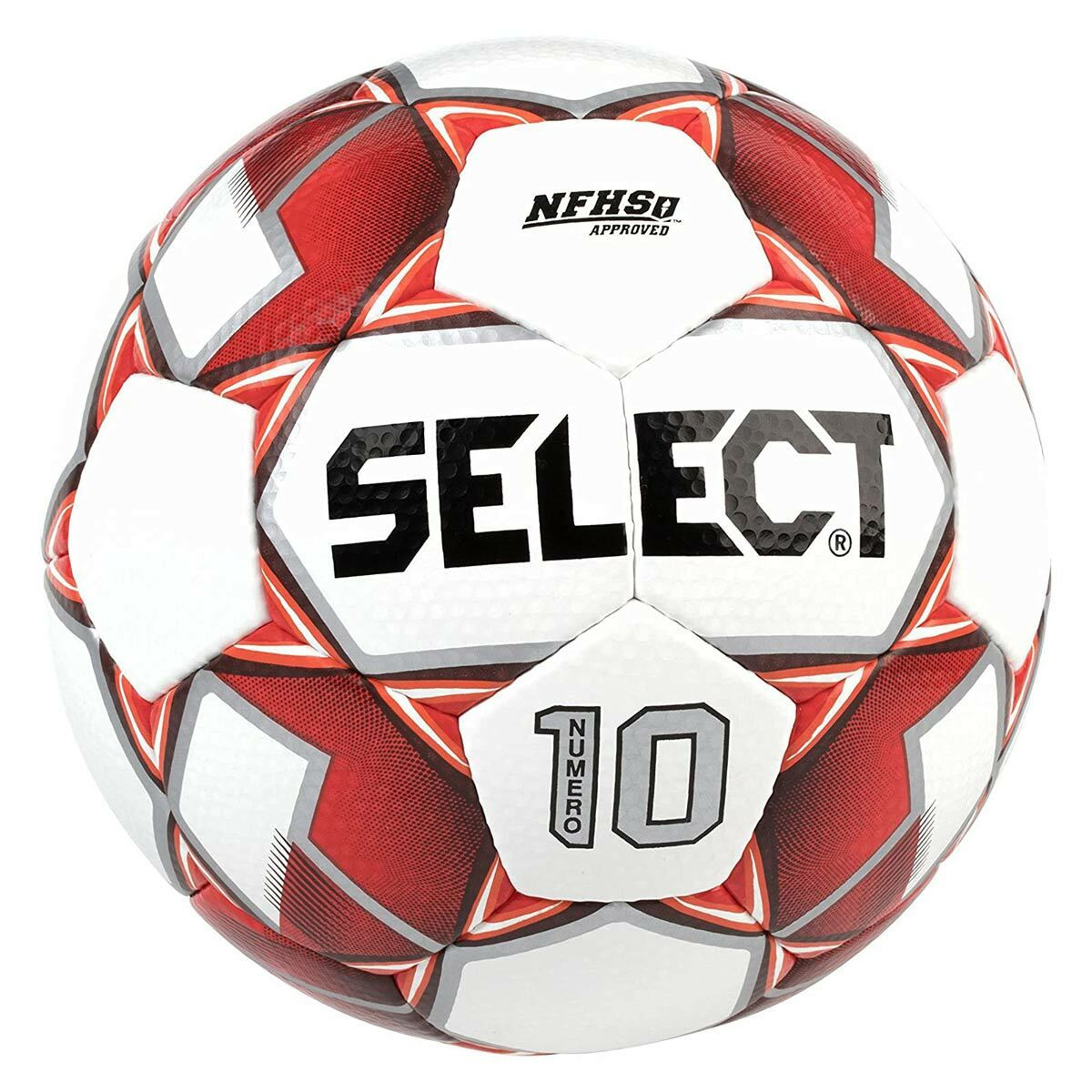 Select Numero 10 Soccer Ball red