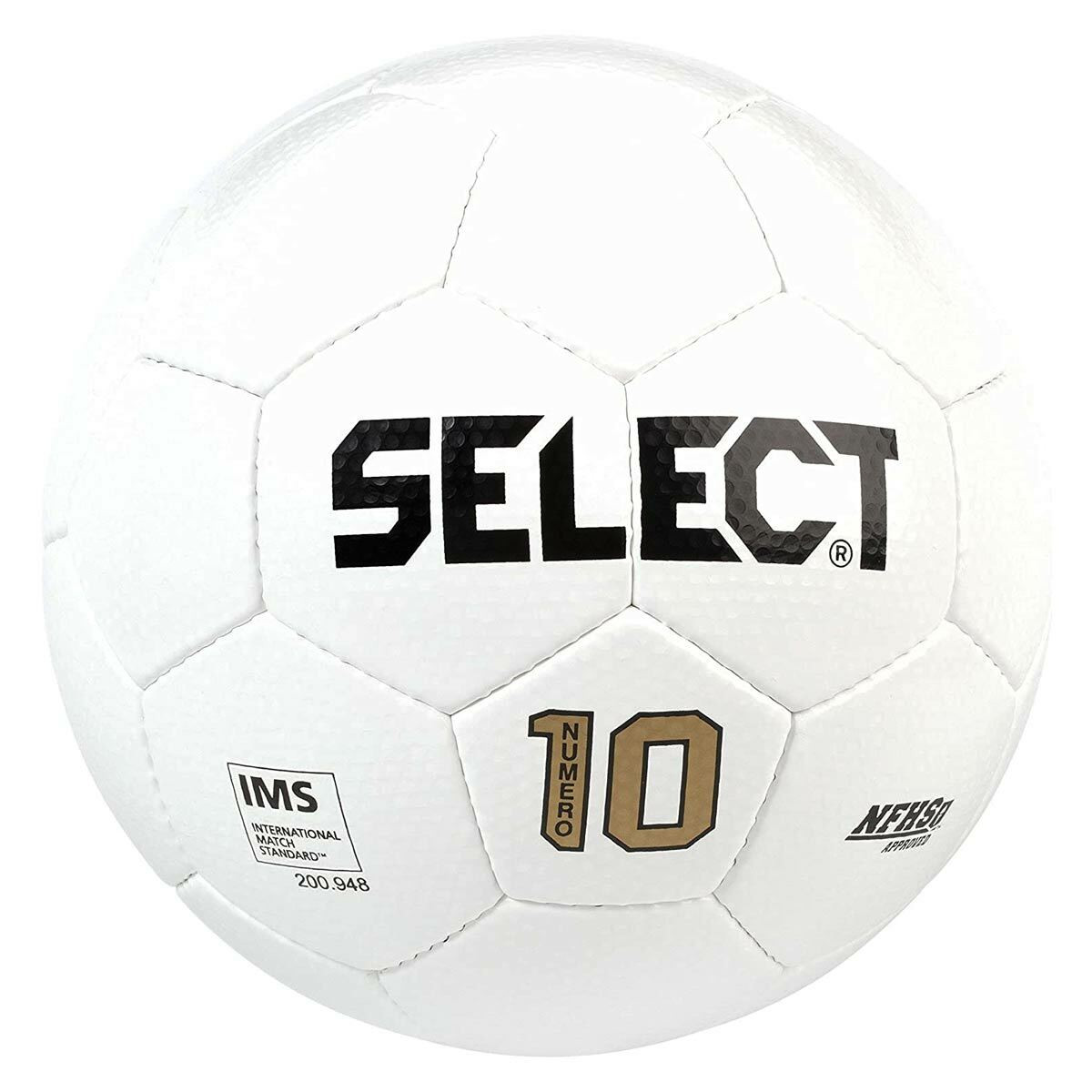 Select Numero 10 Soccer Ball white