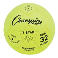 Champion Sports 3 Star Indoor Soccer Ball