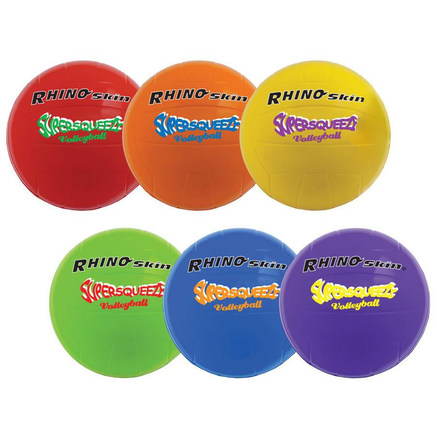 Champion Sports Super Squeeze Rainbow Soccer Ball Set