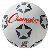 Champion Sports Rubber Soccer Ball