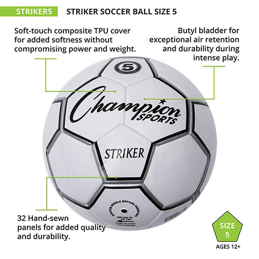 Champion Sports Striker Soccer Ball