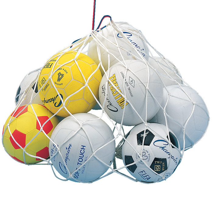 Champion Sports Open Mesh Ball Bag