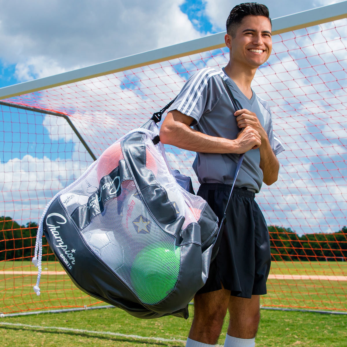 Champion Sports CB100 Heavy Duty Ball Bag