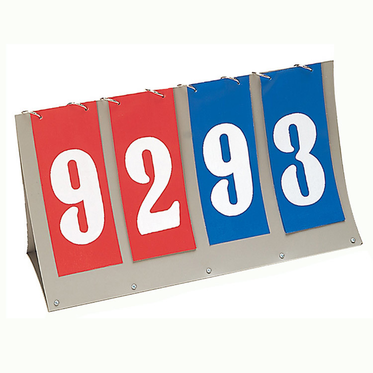 Champion Sports Flip-A-Score Scoreboard