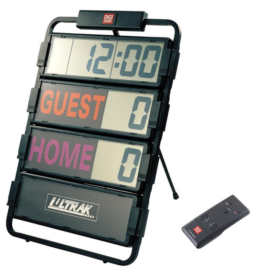 Ultrak Multi-Sport Scoreboard and Timer