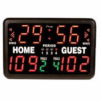 Champion Sports Multi-Sport Tabletop Scoreboard w/ Remote