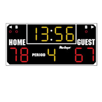 MacGregor Ultimate Wall Mounted Scoreboard with Remote
