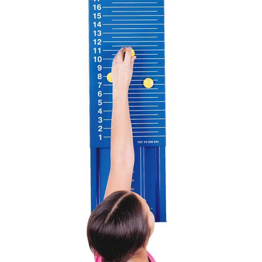 Magnetic Jump and Reach Board