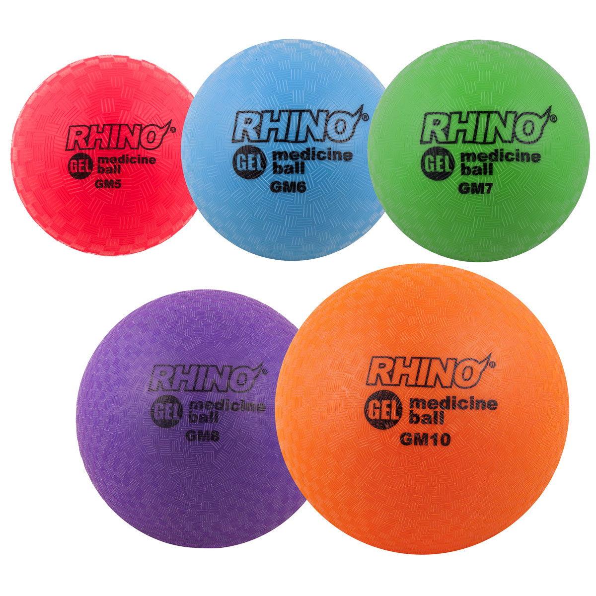 Champion Sports Gel Filled Medicine Balls