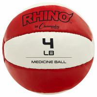 Champion Sports Leather Medicine Balls