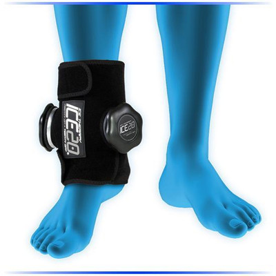 Ice20 Double Ankle Compression Wrap