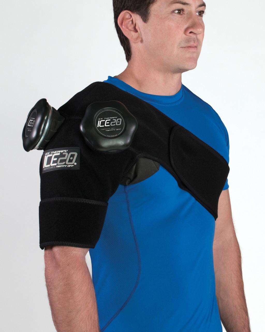 Ice20 Double Shoulder Compression Wrap