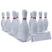 Champion Sports Plastic Bowling Pins Set