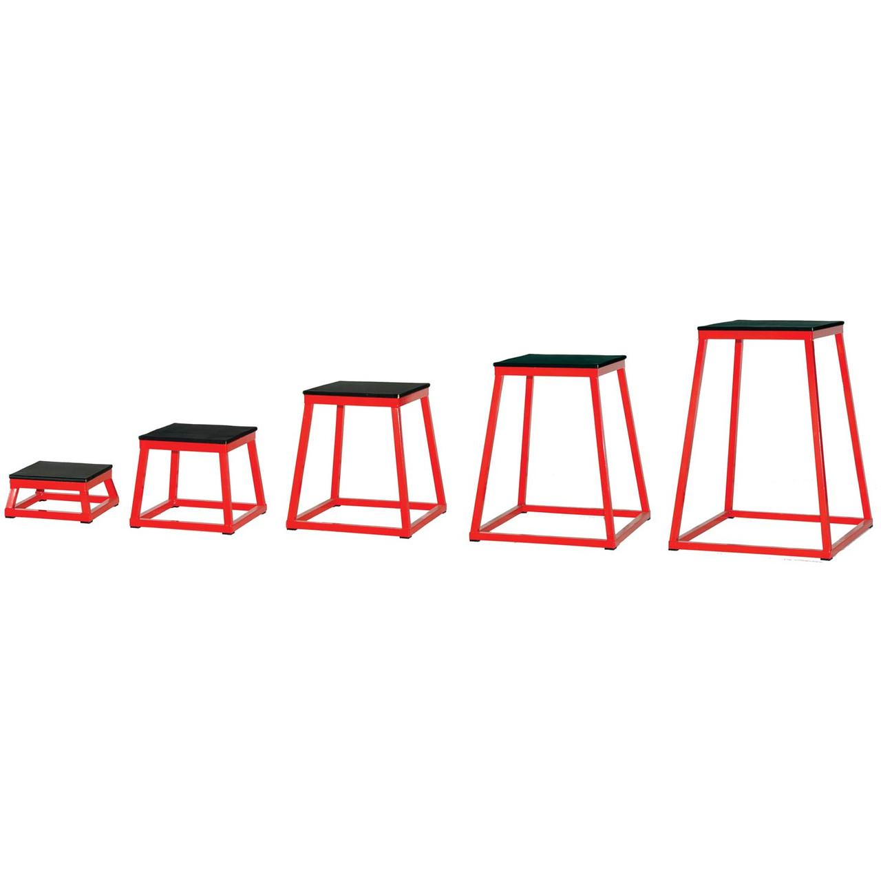 Champion Sports Plyometric Box Set of Five
