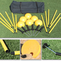Complete Indoor/Outdoor Agility Pole System